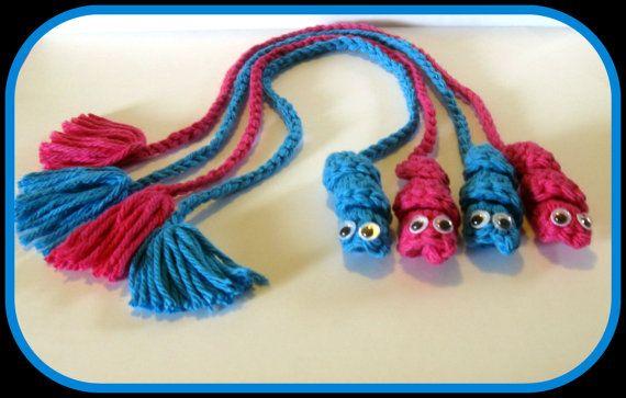 Bookworm bookmarks, crochet bookmark, bookmark tassel, worm ...