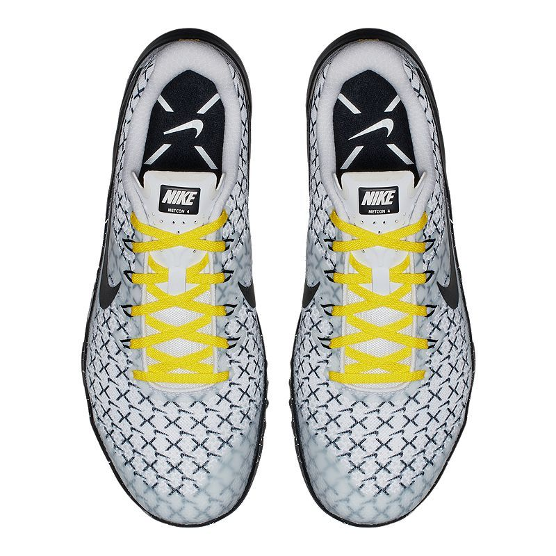 Nike Men's Metcon 4 JDQ Training Shoes White/Black