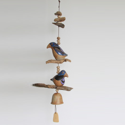 Crow Wind Chime