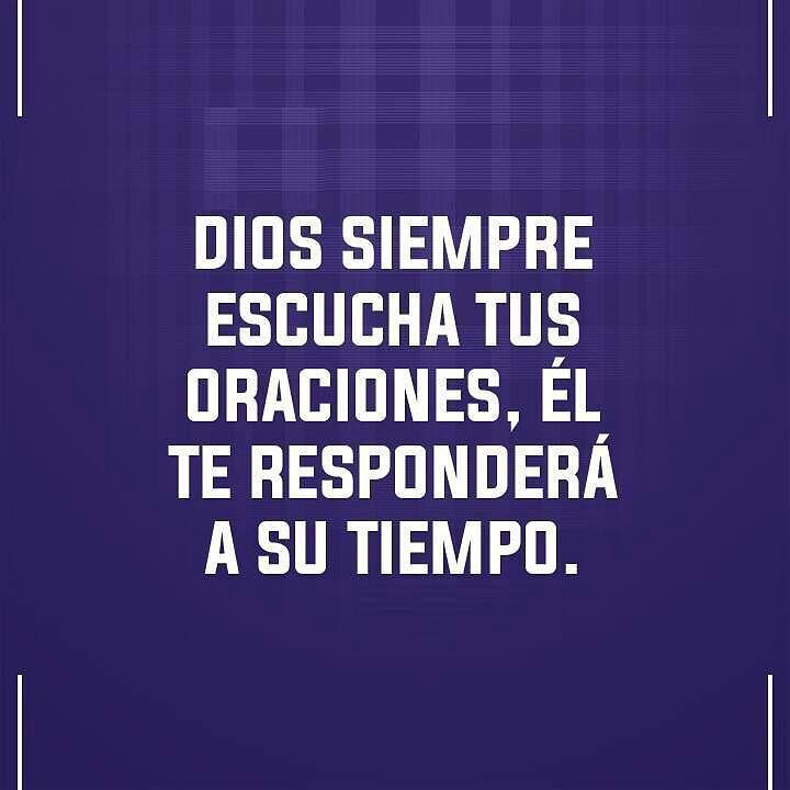 Dios escucha....