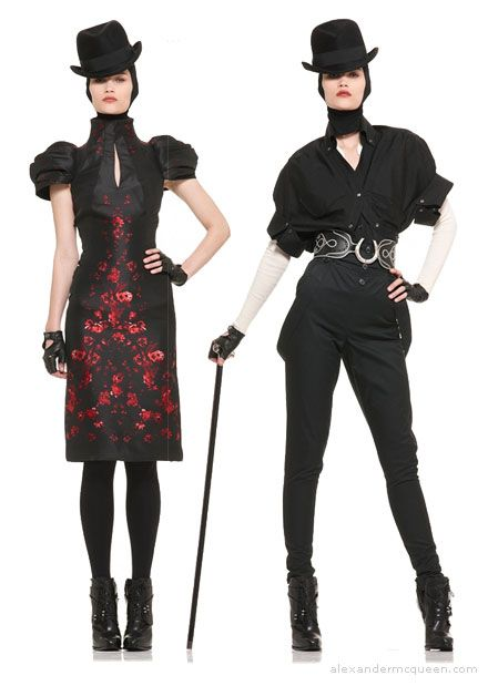 McQueen - I adore all of it, but especially the bowler hats.