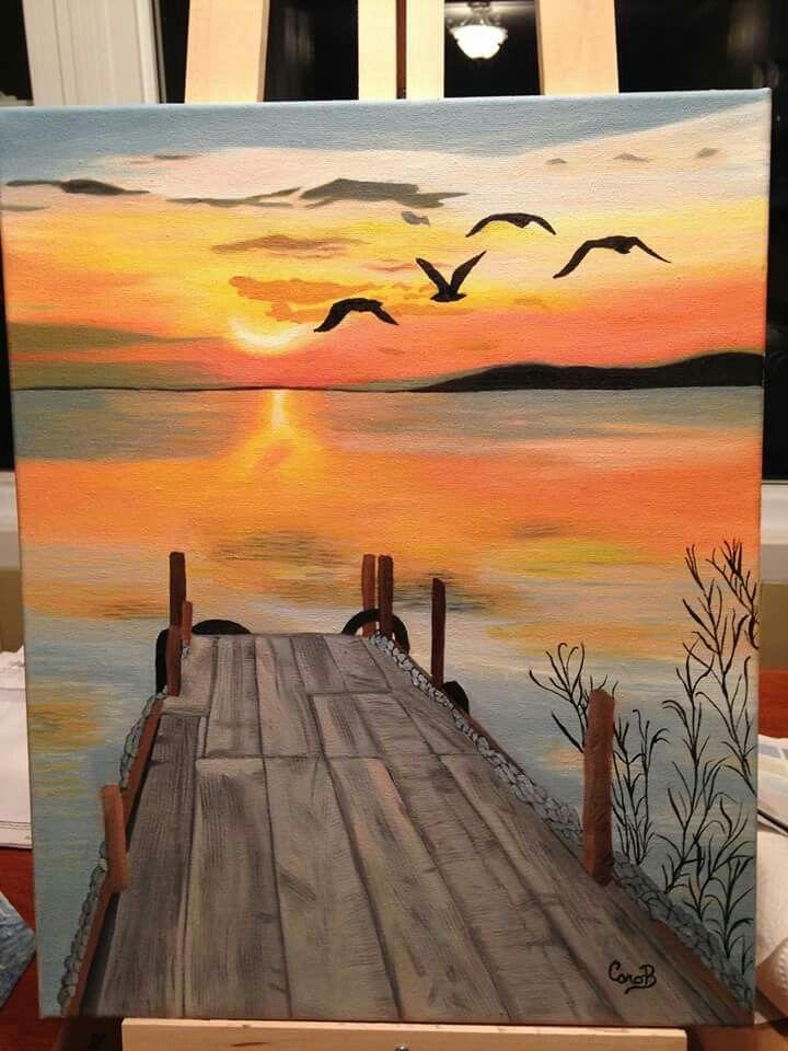 Gun Batimi In 2020 Painting Art Projects Amazing Art Painting Canvas Art Painting