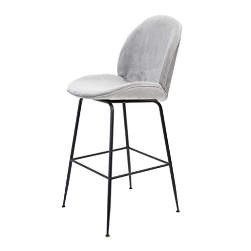 Barstools Dining Chair Kitchen Bar With Comfortable Backrest