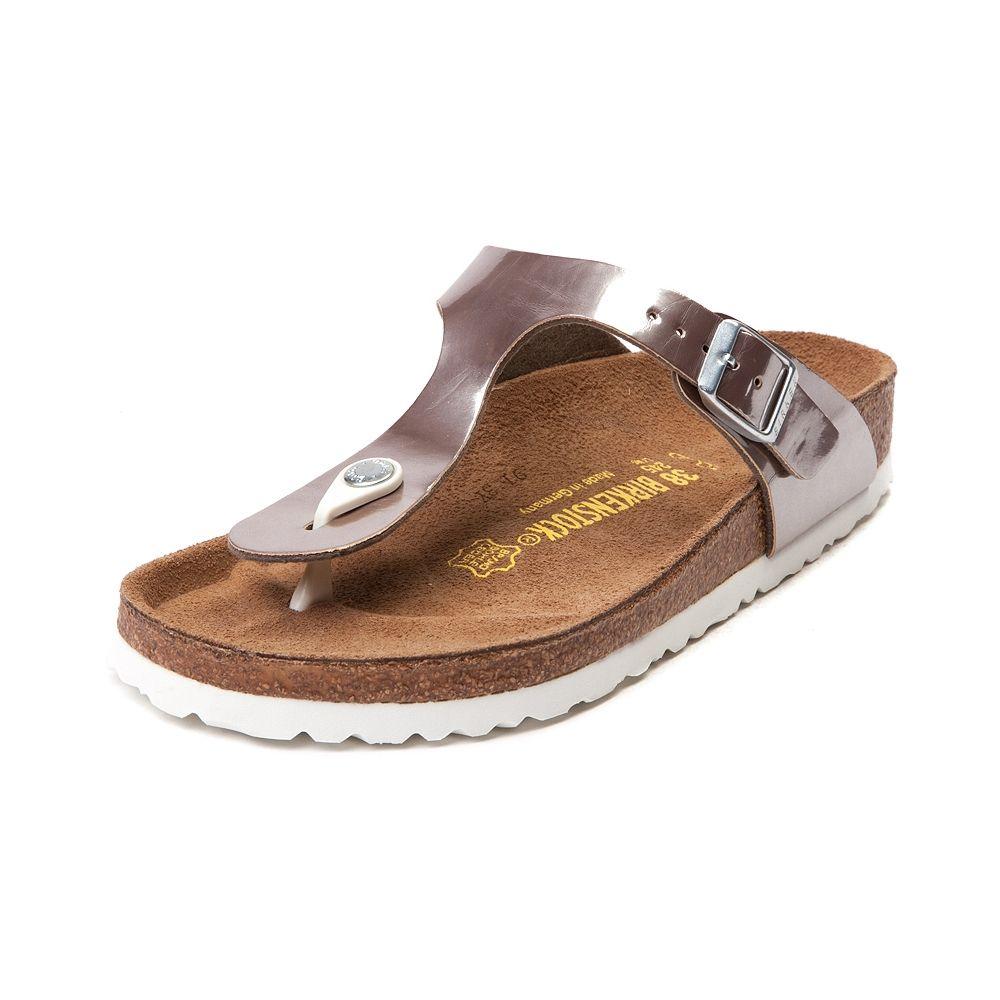 Zapatos marrones Birkenstock Gizeh infantiles 3MeL7OYoa