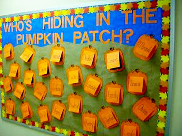 26 Awesome Autumn Bulletin Boards to Pumpkin Spice Up Your Classroom #rabulletinboards