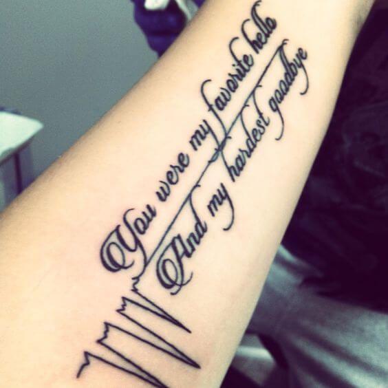 Heartbeat Tattoos For Men Tattoos Mom Tattoos New Tattoos