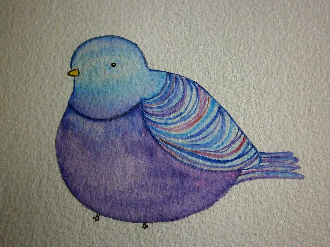 Pigeon inspired by the work of kate wilson littledoodles a pigeon inspired by the work of kate wilson littledoodles a birthday card bookmarktalkfo Images