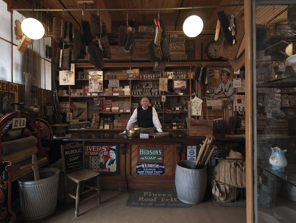 The Coop hardware shop at Beamish in 2020 Shop