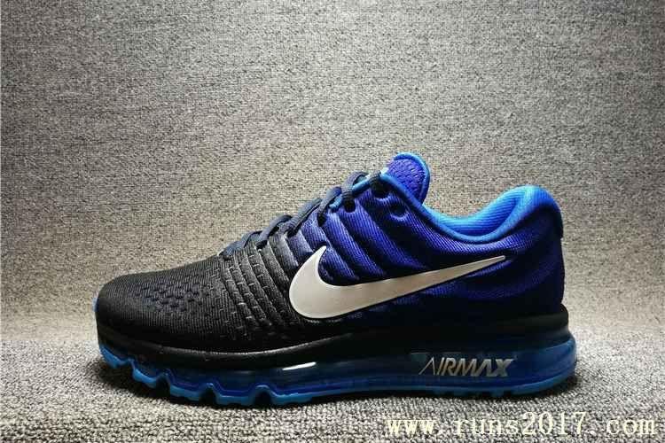 sports shoes cc9c6 e1665 Nike Air Max 2017 Men Gradient Blue Shoes