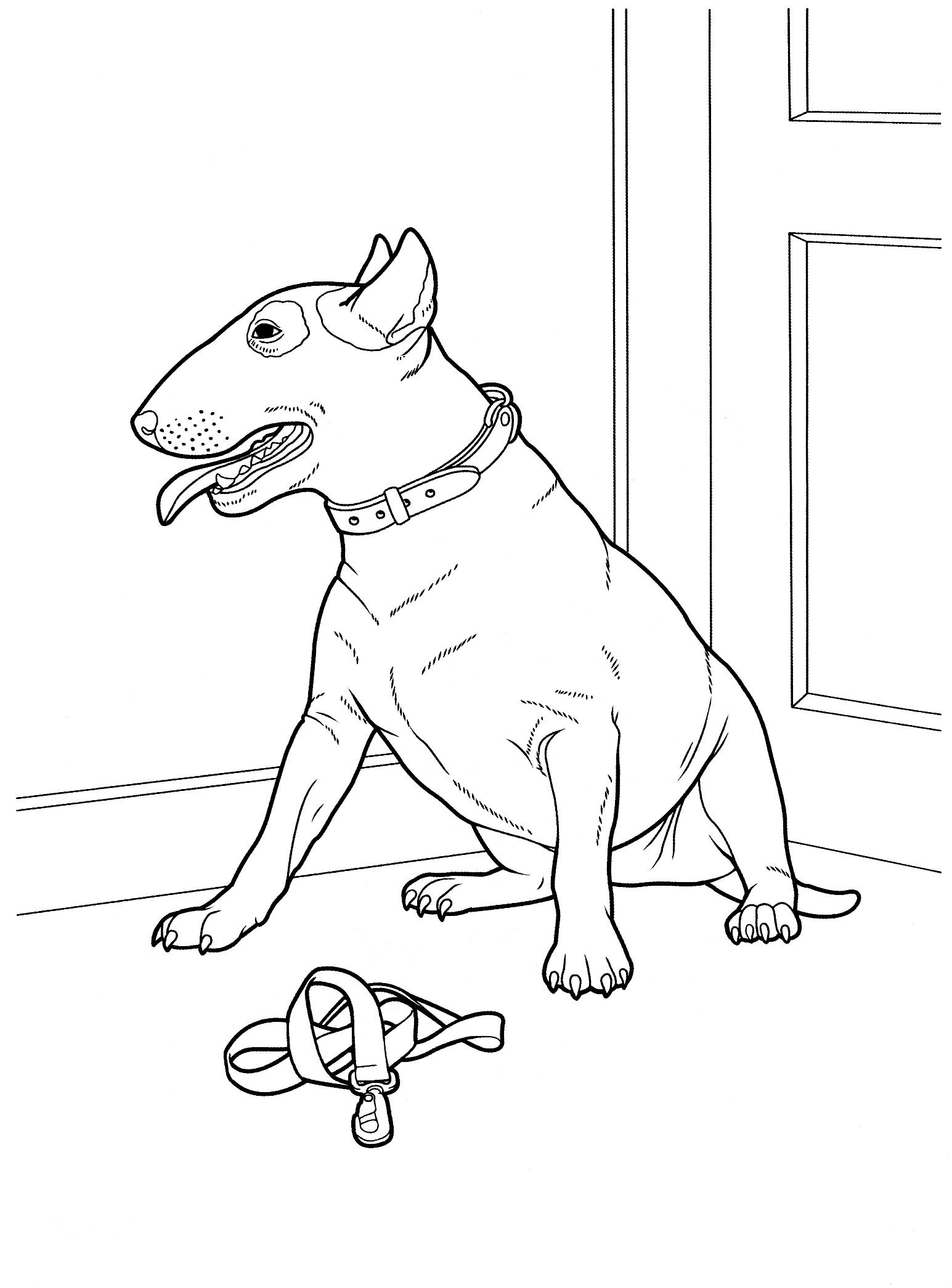dog coloring pages by yuckles digis pinterest dog