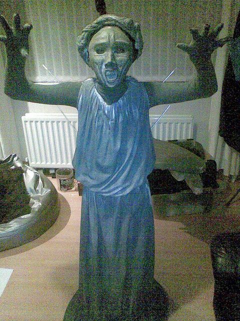 Weeping Angel Costume by Faffyman, via Flickr