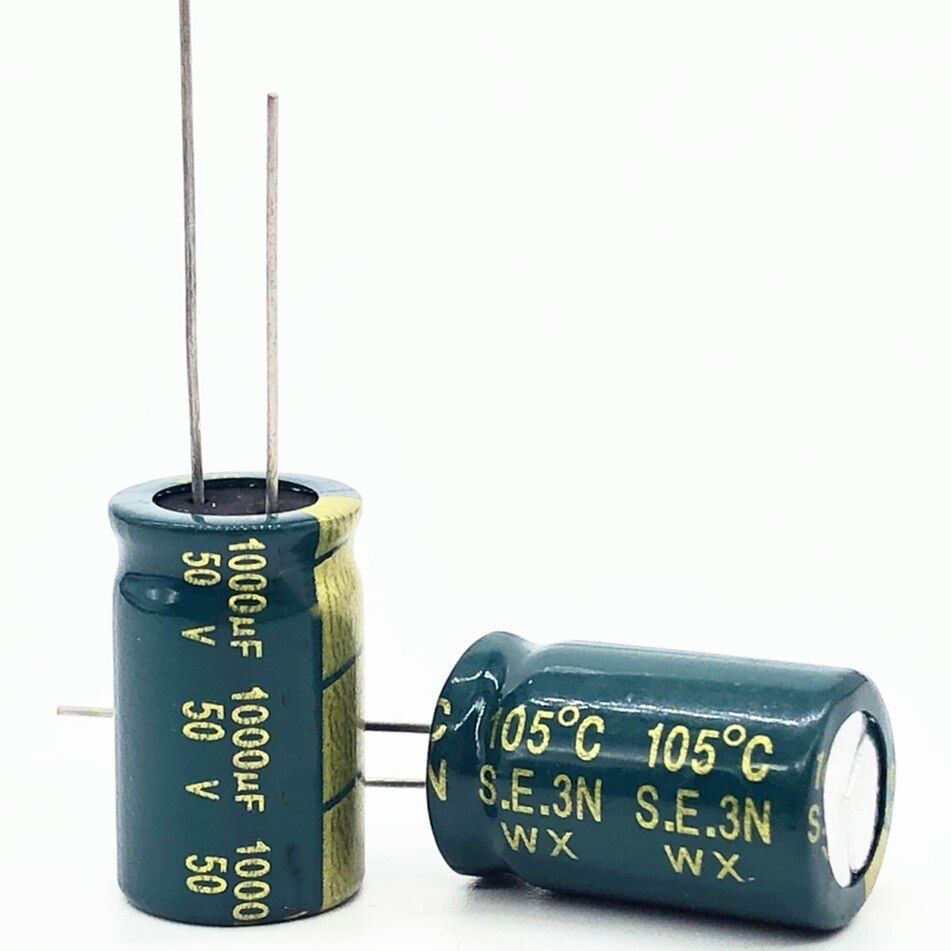 30 50pcs Lot 50v 1000uf High Frequency Low Impedance Aluminum Electrolytic Capacitor 1000uf 50v 20 Https Tob Electrolytic Capacitor Capacitor Things To Sell