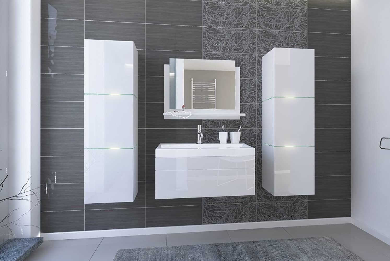 Home Direct Lorent 2 Moderne Badschranke Badmobel Mit Waschbecken