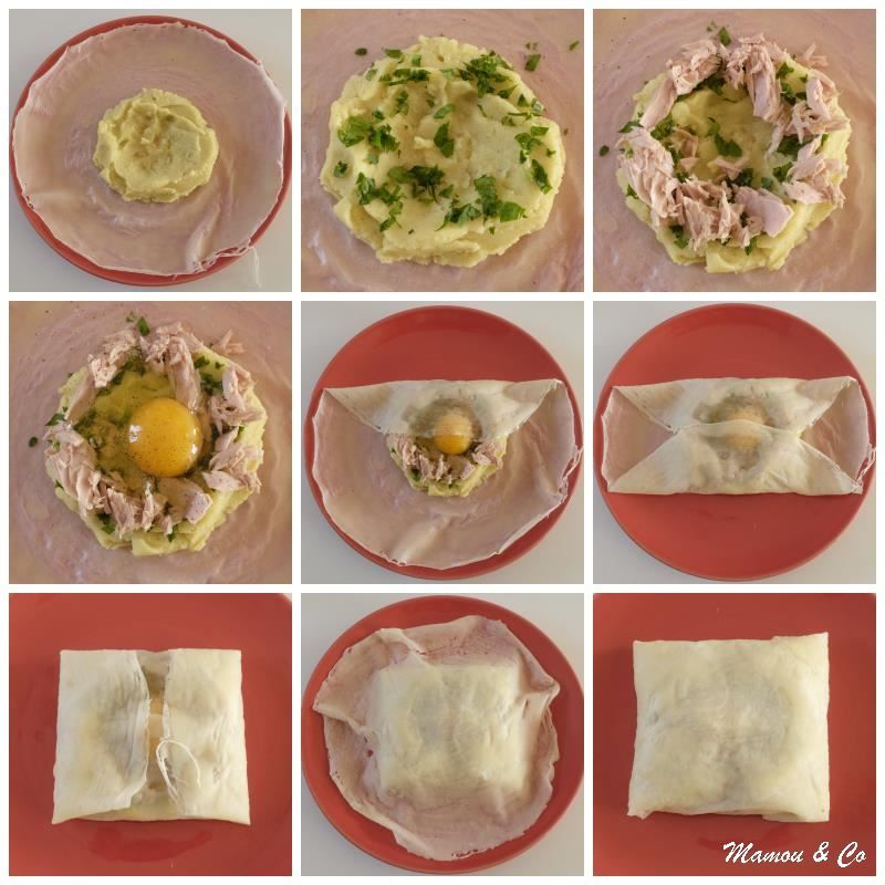 Feuilles De Brick Au Thon Et A L œuf Cuisine Hmmm Omelette