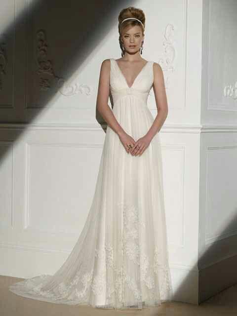 Empire Waist Couture Wedding Dress Ella Goddess Wedding Dress Wedding Dresses Wedding Dress Couture