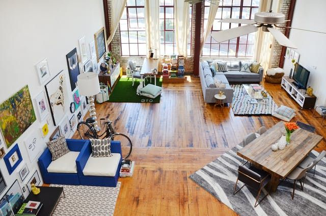 House Tour: A Bright DIY & Art-inspired Loft in Oakland | Apartment Therapy