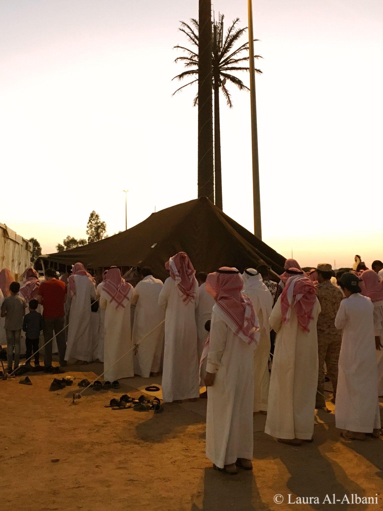 Maghrib Prayer at Souq Okaz   Exploring Saudi Arabia   Arabian