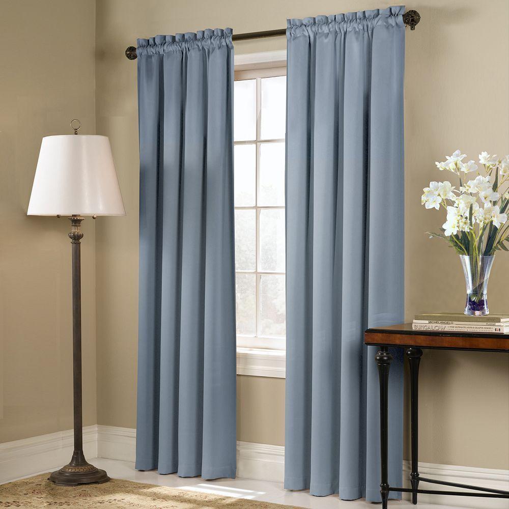 United curtain co blackout panel blackstone window curtain beige