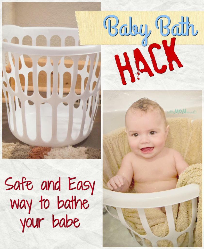 Safe, yet, easy hack to baby\'s bath time! | LittleMOMments ...
