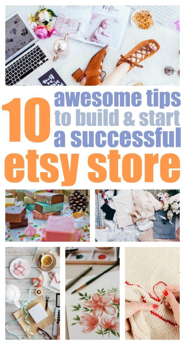 An Etsy shop can be the beginning of your small business journey. Click here to find out how to get your Etsy shop started and primed for success.
