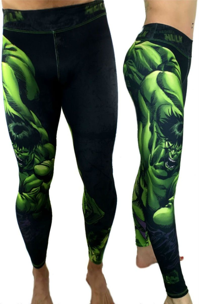 Check Out These Awesome Unisex Hulk Mad Leggings Made