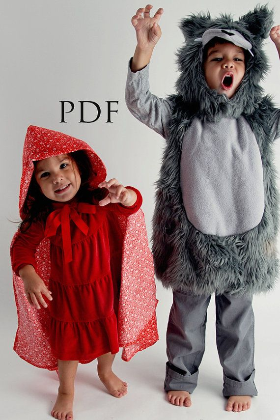 Halloween Costume 4 5.Cape Pdf Sewing Pattern Including Sizes 2 3 4 5 6 8 10 12 13