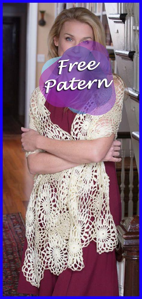 Galactic Shawl Crochet Free Pattern Crochet Shawlsshrugs And
