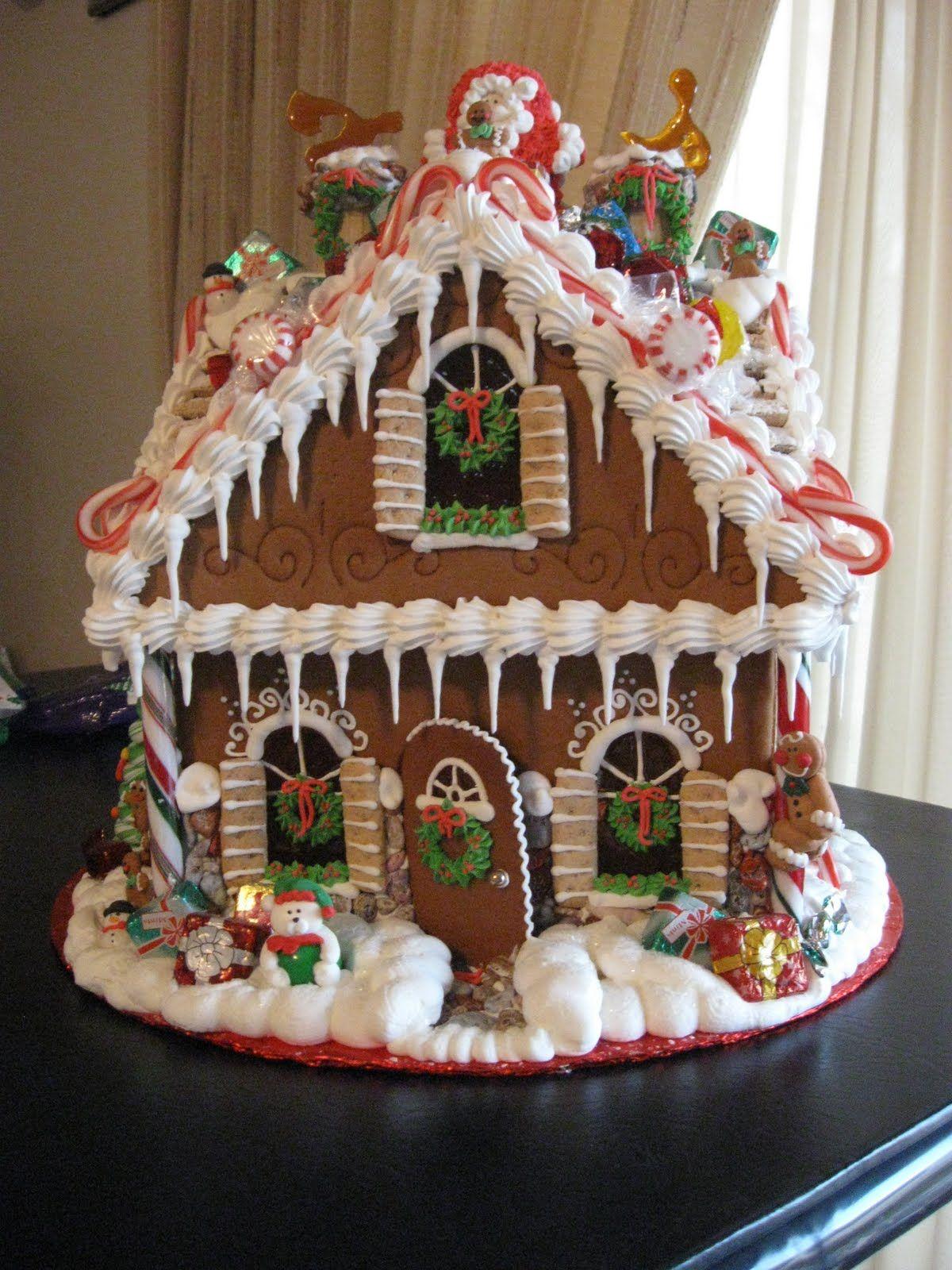 ooohh la la! | Christmas | Pinterest | Galleta, Casas de pan de ...