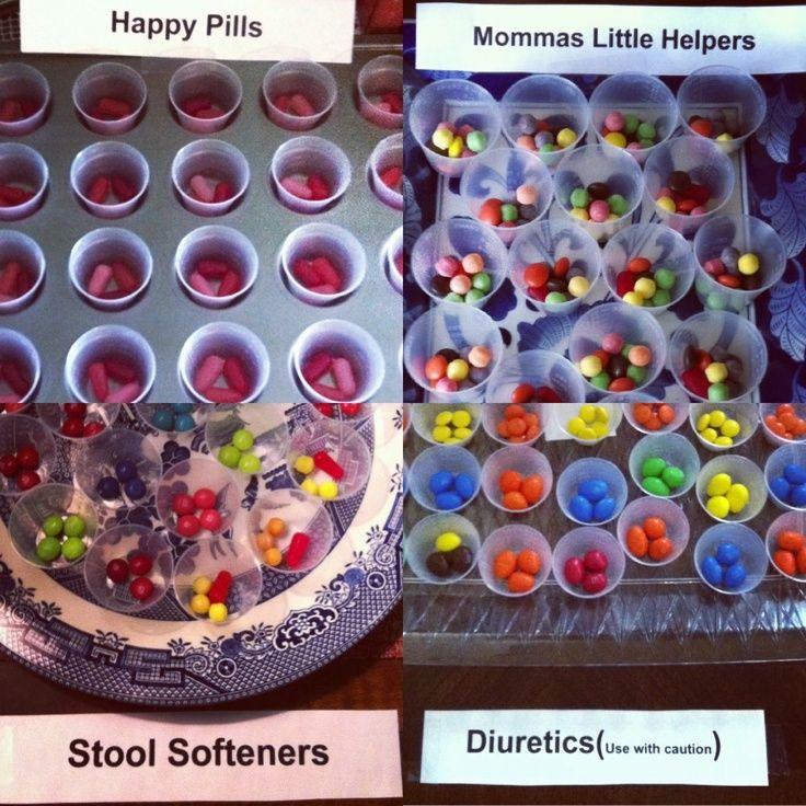 medical themed party | Candy Medicine ~ Nurse graduation / medical themed ... | party ideas