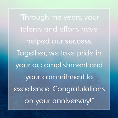 Sample Employee Appreciation Messages For Years Of Service Awards Employee Appreciation Quotes Employee Appreciation Messages Work Anniversary Quotes
