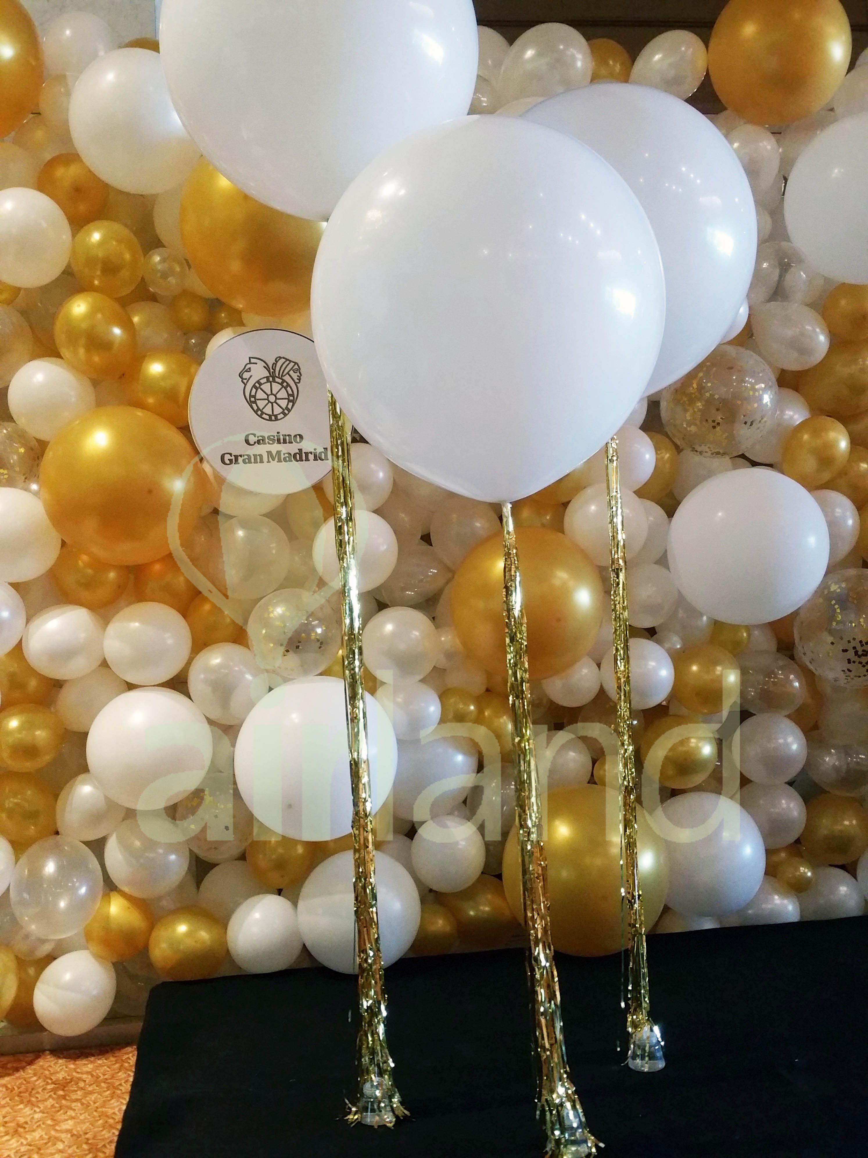 41++ Decoracion con globos blancos trends