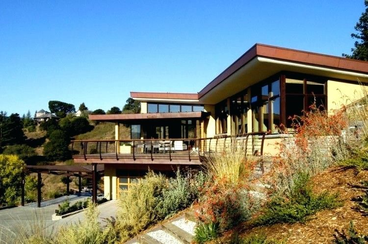 Modern Hillside House Plans With A View Hidup Hidup Sehat