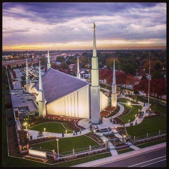 Boise Idaho LDS Temple | LDS Temples | Pinterest | Templo, Templos ...