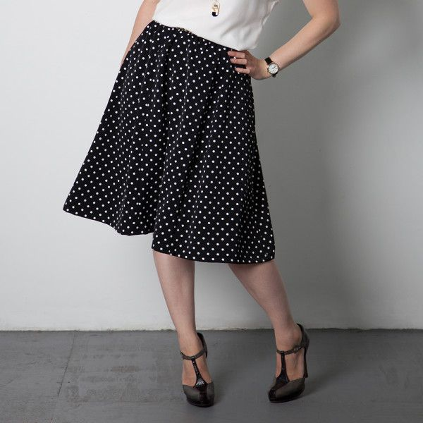 Introducing the next pattern... The Rae Skirt | Wardrobe Architect ...
