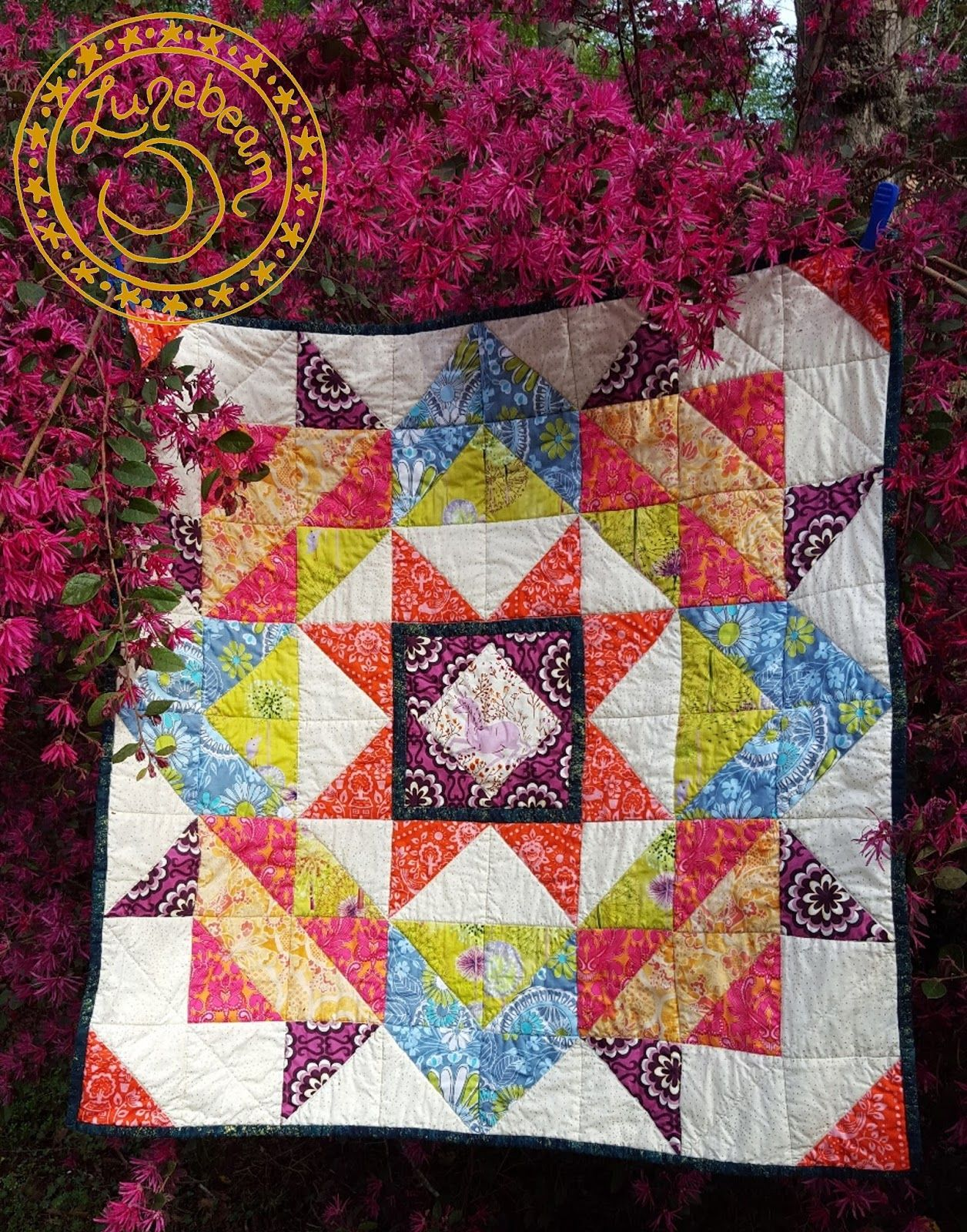 free pattern = Moda Love quilt, 32