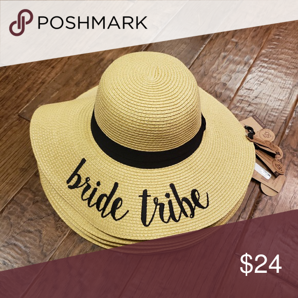 78aceb3a Bride Tribe Packable Floppy Hat - C.C. C.C. Brand wide-brimmed floppy beach  hat. 100