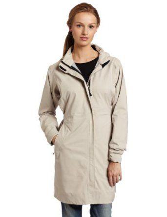 ExOfficio Womens Rain Logic Trench Jacket