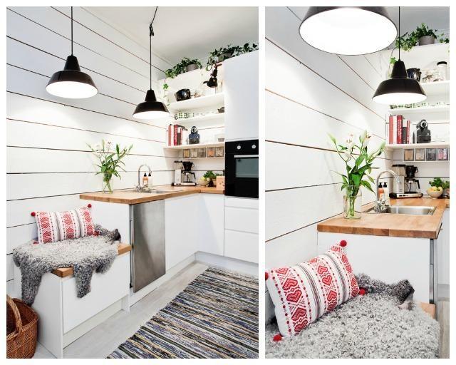 No os podéis perder este blog con ideas geniales para sacar partido a nuestra cocina, aunque sea pequeña. ¿Cuéntanos cómo te organizas tú?