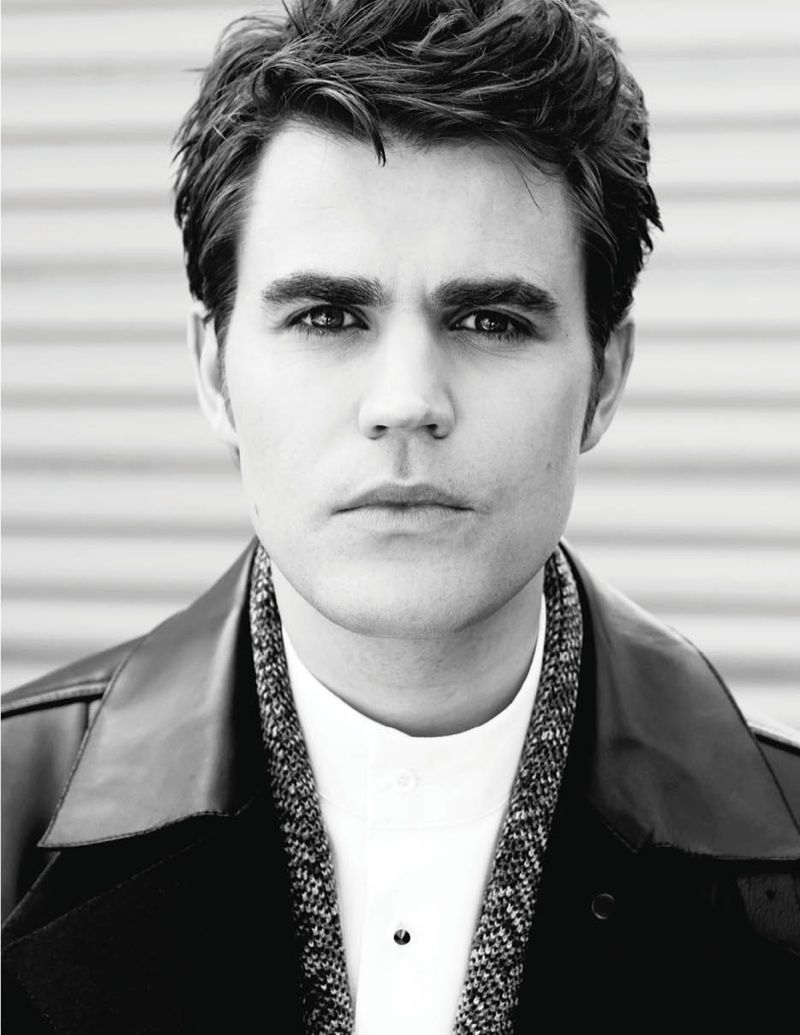 Paul Wesley for Fashio...