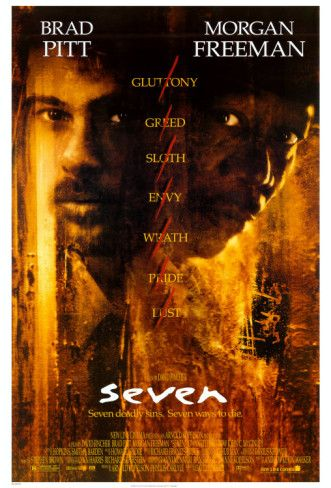 Se7en (movie poster). The best movie ever made. Nuff said.
