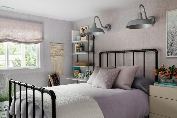 Dream Home 2018 Lavender Guest Bedroom Pictures Linen fabric