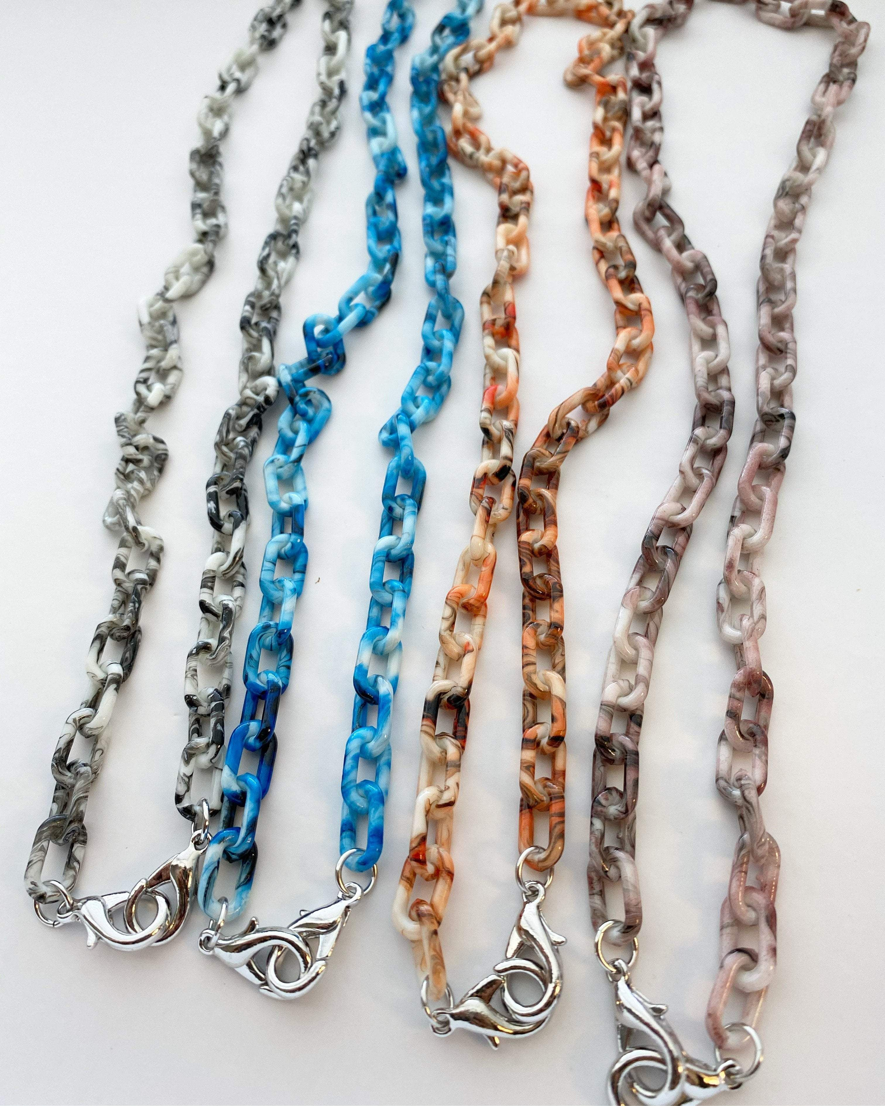 Acrylic Mask Chains