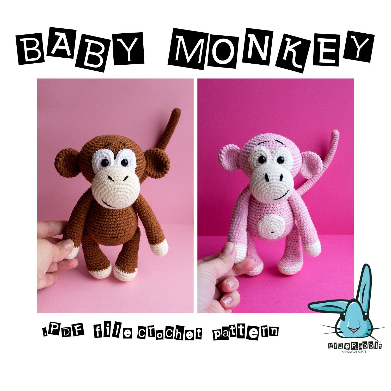 Scimmia all'uncinetto amigurumi - tutorial passo a passo I di II ... | 1500x1500