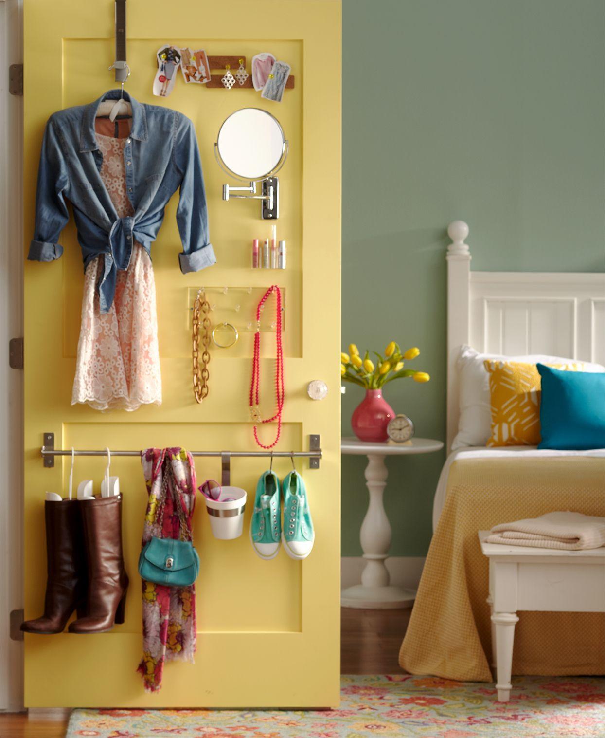 Store More With These Behind The Door Storage Ideas In 2020 Organization Bedroom Small Bedroom Diy Storage Hacks Bedroom