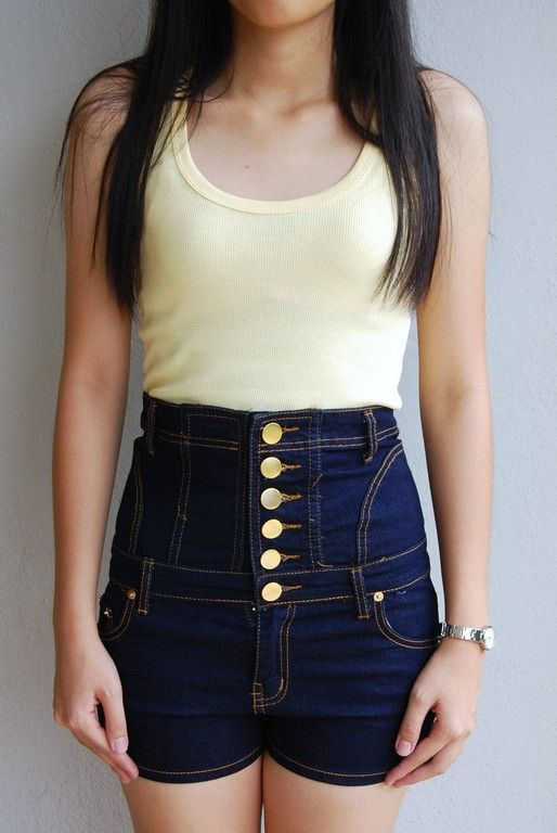 High waisted shorts | Everyone has syle, express yourself ...