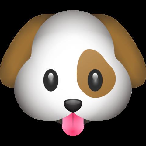 Dog Emoji | Dog emoji, Cute puppy breeds, Emoji