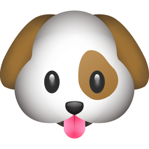 Dog Emoji Dog emoji, Cute puppy breeds, Dog cookies
