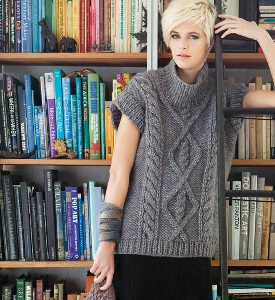 (6) Name: 'Knitting : Cap Sleeve Tunic [VKW1112_08]