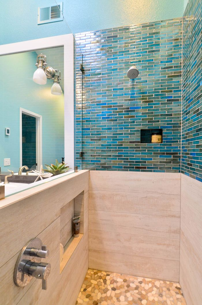 shiny wall tile decor ideas | Bathroom tile designs ...