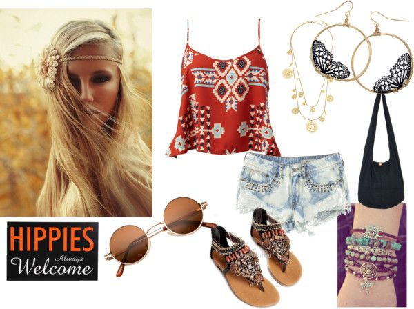 """""""Bohemian Lover"""" by breya ❤ liked on Polyvore"""